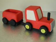 Tractor & Trailer Cake Toppers